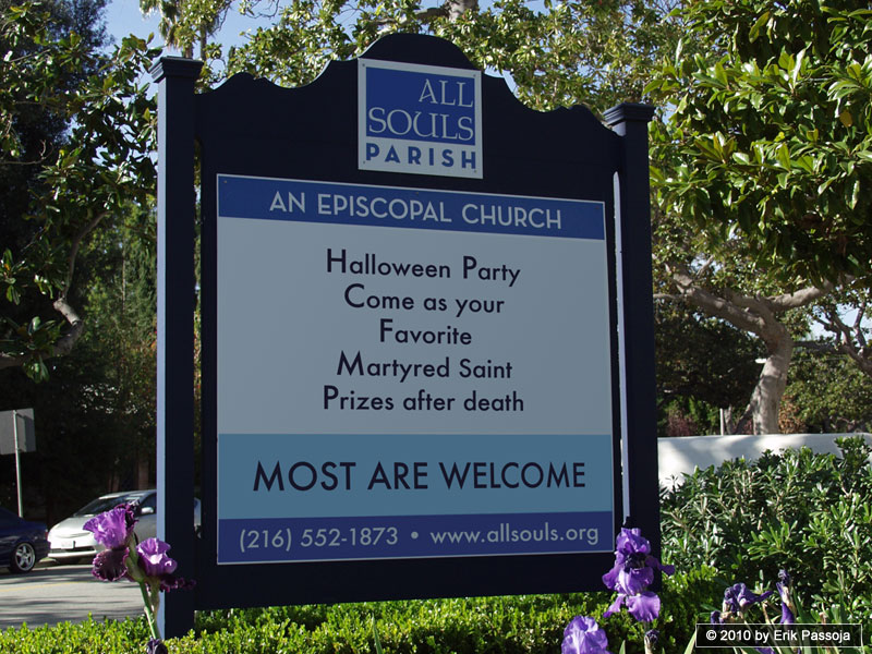all souls church halloween