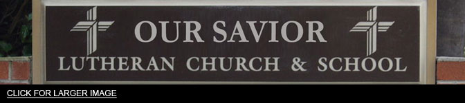 sunday worship church sign